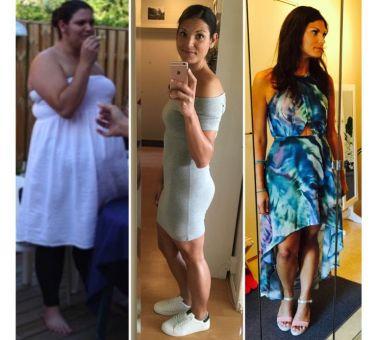 før og etter bilder vektnedgang
